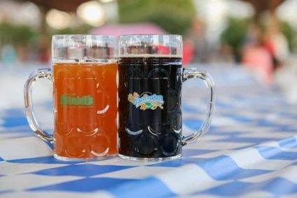 two-beer-mugs-on-table