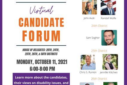 Candidate Forum Addresses Disability Concerns